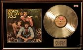 BEE GEES - Best of Vol 2  LP platinum disc & cover